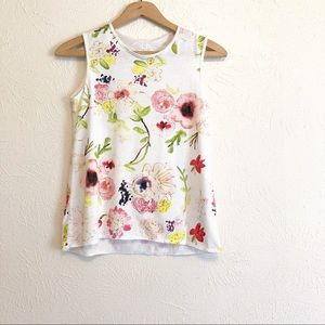 Chaser Floral Sleeveless Tee